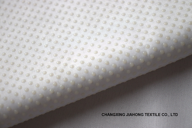 PVC Glue fabric Dot Fabric