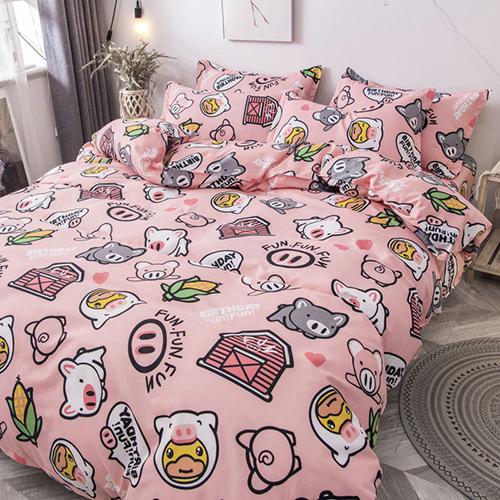 Factory Wholesales Cartoon Bedding Sets