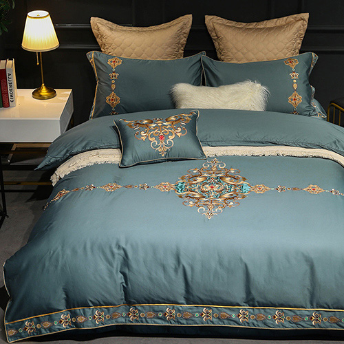 Flower print Bedding Sets Luxury Bedding Sets 0010