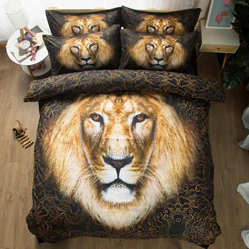 Wholesales 3D Animal Bedding Set 002