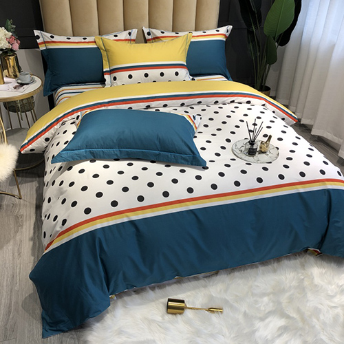 Wholesales Dot Bedding Set 002